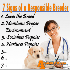 Responsible Breeder